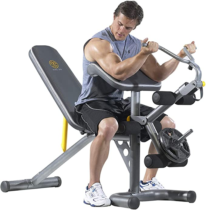 7. Gold's Gym XRS 20 Olympic Adjustable Weight Bench