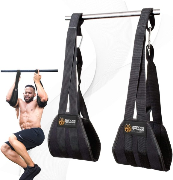 #1. DMoose Fitness Ab Strap for Muscle Building