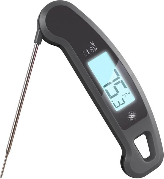 #10. Lavatools Meat Thermometer with Backlight