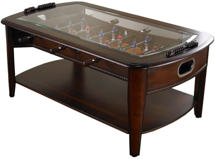 #5. Chicago Gaming Foosball Coffee Table