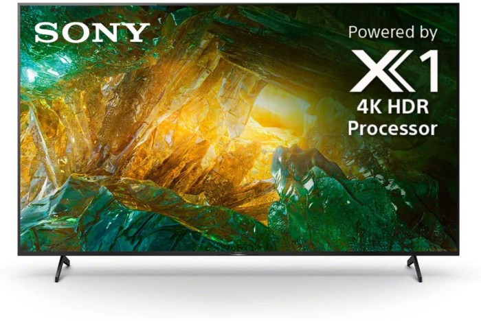 #6. Sony X800H HDR 85 inch TV