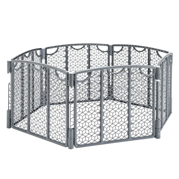 #1. Evenflo Versatile Baby Fences & Gates Play Space