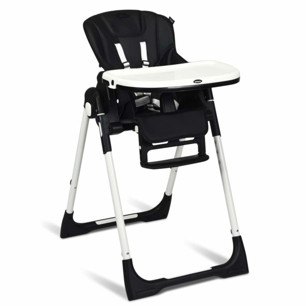 #1. INFANS Adjustable Foldable High Chair