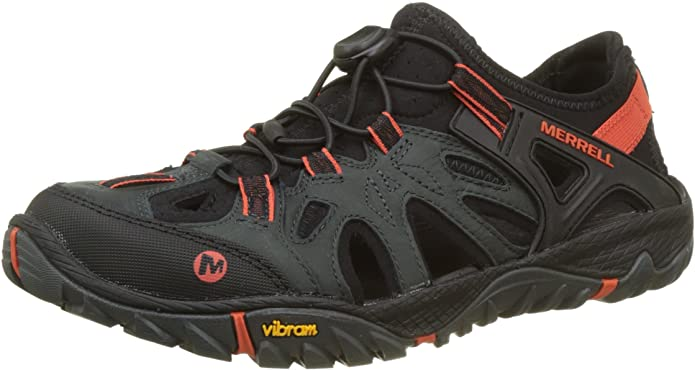 #6. Merrell Nubuck Leather Water Shoes for Men