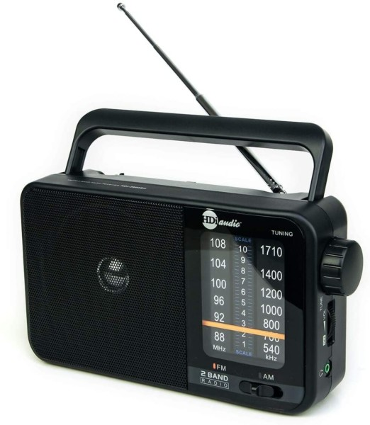 #7. HDi Audio AM FM Portable Radios