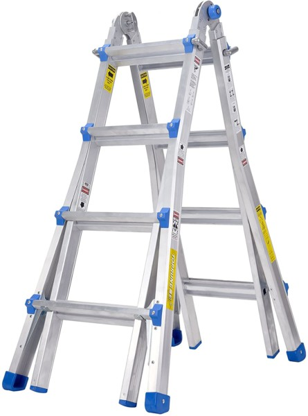 #7. TOPRUNG Multi-Position Ladders